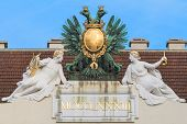 Vienna, Austria - Eagle On Imperial Palace