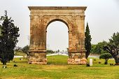 Arco triunfal de Bera em Tarragona, Espanha.