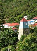 Bell Tower in Gustavia, St. Barts