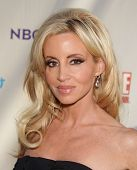 LOS ANGELES - AUG 11:  CAMILLE GRAMMER arriving to Summer TCA Party 2011 - NBC  on August 11, 2011 i