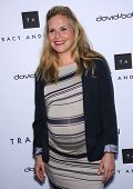 LOS ANGELES - APR 04:  Sally Pressman arrives to the Tracy Anderson Flagship Studio Opening  on Apri