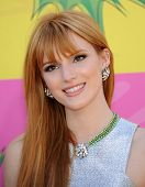 LOS ANGELES - MARCH 23:  Bella Thorne arrives to the Kid's Choice Awards 2013  on March 23, 2013 in