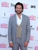 LOS ANGELES - FEB 23:  Bradley Cooper arrives to the Film Independent Spirit Awards 2013  on Februar