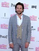 LOS ANGELES - FEB 23:  Bradley Cooper arrives to the Film Independent Spirit Awards 2013  on Februar