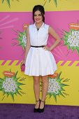 LOS ANGELES - MARCH 23:  Lucy Hale arrives to the Kid's Choice Awards 2013  on March 23, 2013 in Los
