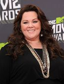 LOS ANGELES - APR 14:  Melissa McCarthy arrives to the Mtv Movie Awards 2013  on April 14, 2013 in C