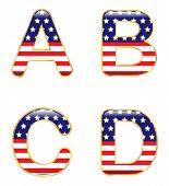 Patriotic ABCD
