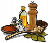 Spices And Oil