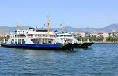 Ferryboat In Izmir (bostanli), Turkey