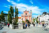 Ljubljana Preseren Square