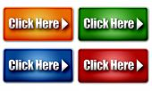 Set Of Colorful Click Here Web Buttons