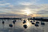 Peaceful Harbor At Howth