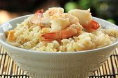 Stirfried Rice With Shrimp