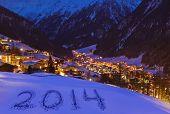 2014 On Snow At Mountains - Solden Austria