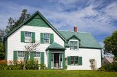 Green Gables House in Prince Edward Island National Park.  Made famous in the book 'Anne of Green Ga