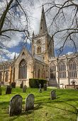 stock photo of william shakespeare  - Stratford upon Avon church - JPG