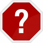Question Mark Traffic Sign