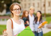 stock photo of student  - summer holidays - JPG