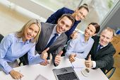 stock photo of enthusiastic  - business - JPG