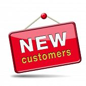 new customers attract buyers increase traffic by product marketing and promotion