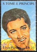 Presley S.tome Stamp 9
