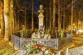 Sabala And Chalubinski Monument At Night