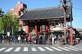 Tokyo -nov 21: Unidentified Tourists In The Senso-ji Temple In Tokyo,japan