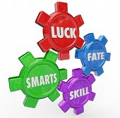 Luck Fate Smarts Skill Four Essential Success Factors