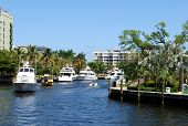 Boats on canal - Fort Lauderdale