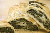 Fresh Spinach Roll