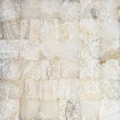 picture of quadrangles  - Natural detailed stone mosaic for background or texture - JPG