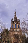 foto of senora  - Basilica de Nuestra Senora de Begona - Basilica of Begona in Bilbao Biscay Basque Country Spain