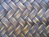 Close Up Texture Ratan Weave