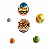 Russian Matryoshka Dolls Set