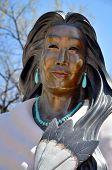 Statue ot Kateri Tekakwitha