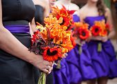 Beautiful Bride & Bridesmaid Flowers