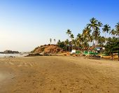 India. Goa. Beaches of the North of Goa.
