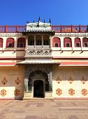 India. Jaipur. City Palace- Palace of the maharaja
