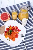 Easy fitness food to sustain shape in form