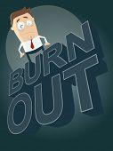 cartoon burnout background
