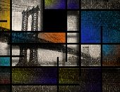 Modern Art Inspired Landscape NYC