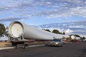 Transport Wind Turbines Blades