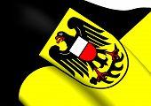 Flag Of Rottweil Kreis