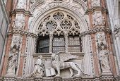 Close Up Of Doge Palace (venice, Italy)