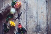 Vintage Floristic Background