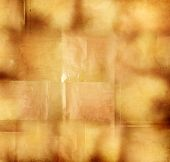 Closeup of brown grunge paper texture