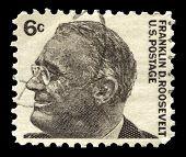Franklin D Roosevelt Us Postage Stamp