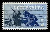 Battle Of Gettysburg Centennial Us Postage Stamp
