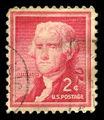 Thomas Jefferson Us Postage Stamp