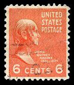 John Quncy Adams Us Postage Stamp
